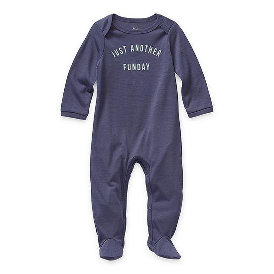 Sleep Chic Funday Baby Unisex Long Sleeve One Piece Pajama