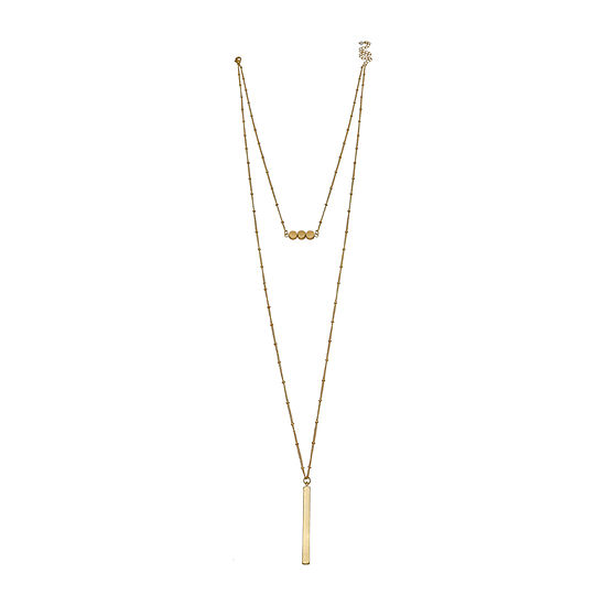 a.n.a Layered 32 Inch Pendant