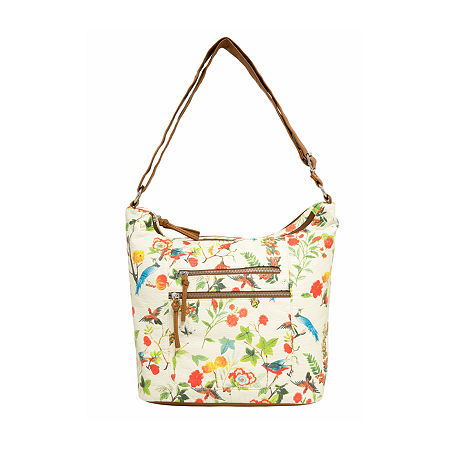 (55% OFF Deal) Bueno of California Printed Washed Shoulder Bag $33.69