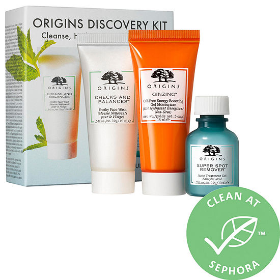 Origins Cleanse, Hydrate & Treat Blemishes Kit