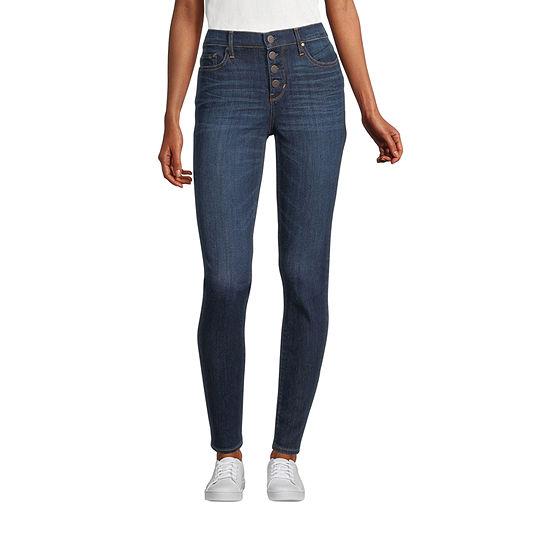 a.n.a - Tall Womens High Rise Skinny Fit Jean