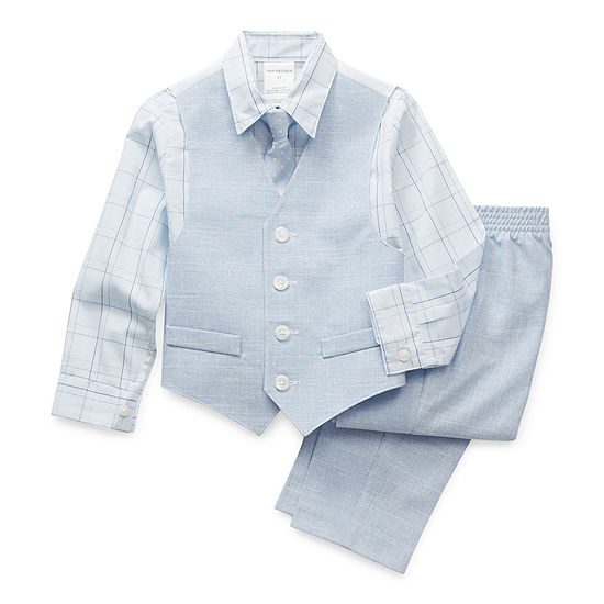 Van Heusen Toddler Boys 4-pc. Suit Set