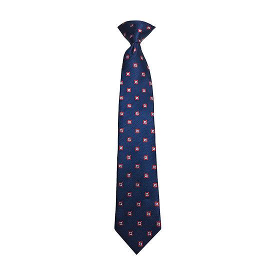 Little & Big Boys Dots Clip on Tie