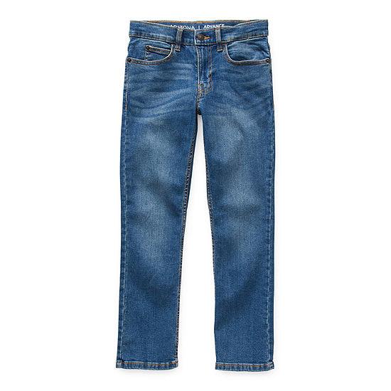 Arizona Advance Flex 360 Little & Big Boys Skinny Skinny Fit Jean
