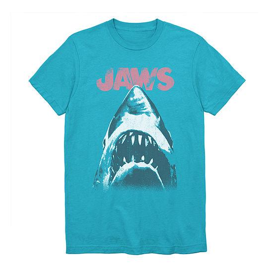 Mens Crew Neck Short Sleeve Graphic T-Shirt