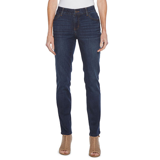 Liz Claiborne Womens Slim Fit Jean