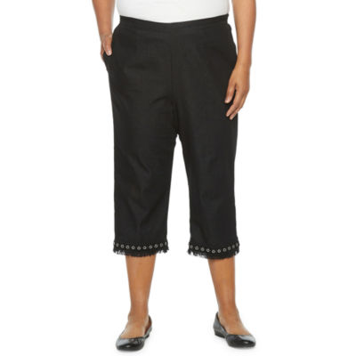 Alfred Dunner Checkmate Plus Capris