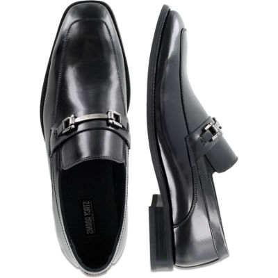 Stacy Adams® Blake Mens Leather Moc-Toe Slip-On Dress Shoes