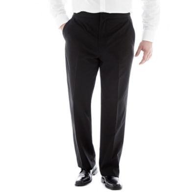 JF J. Ferrar® Flat–Front Tuxedo Pants–Big & Tall