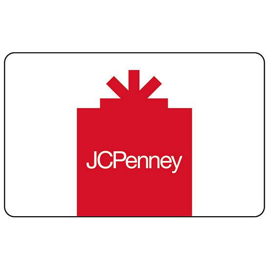 $250 JCP Red Gift Card