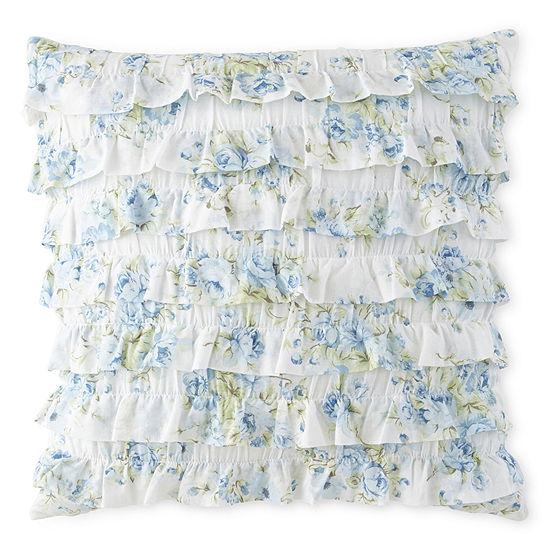 Home Expressions™ Blossom Square Decorative Pillow