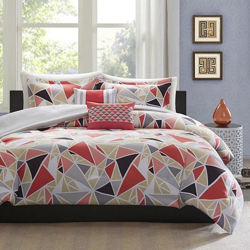Intelligent Design Alicia Modern Comforter Set