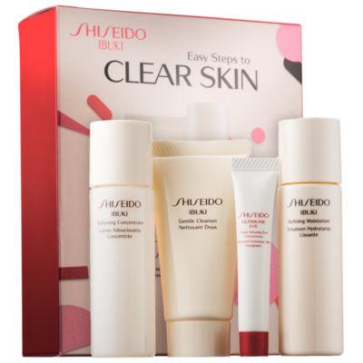 Shiseido Ibuki Easy Steps to Clear Skin