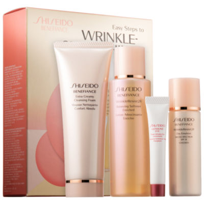 Shiseido Benefiance Easy Steps to Wrinkle-Smoothing