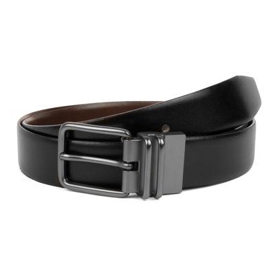 Haggar® Leather Burnished Reversible Belt