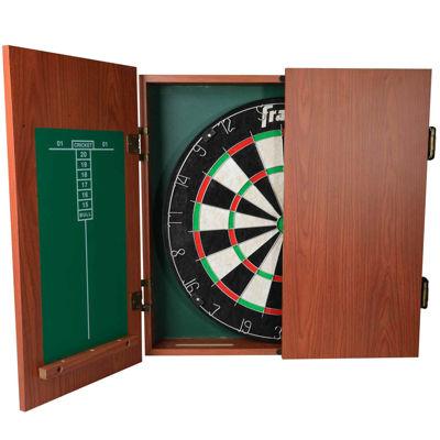 Franklin® Bristle Dartboard With Cabinet