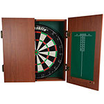 Franklin® Bristle Dartboard With Cabinet