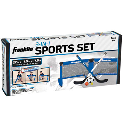 Franklin® 3-In-1 Indoor Sports Set