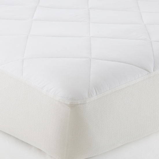 JCPenney Home™ Won't Go Flat® Mattress Pad