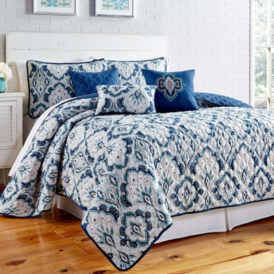Shane 6-pc. Reversible Quilt Set