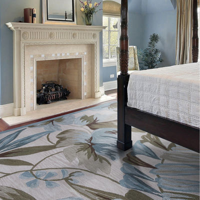 Tropical Rectangle Area Rug