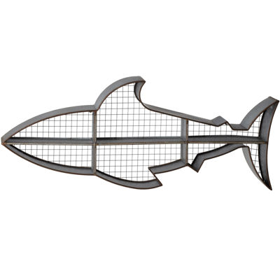 Shark Cubby Wall Shelf