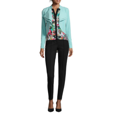 jcpenney.com | nicole by Nicole Miller® Draped Jacket, High-Low Tank Top or Pintucked Ankle Pants