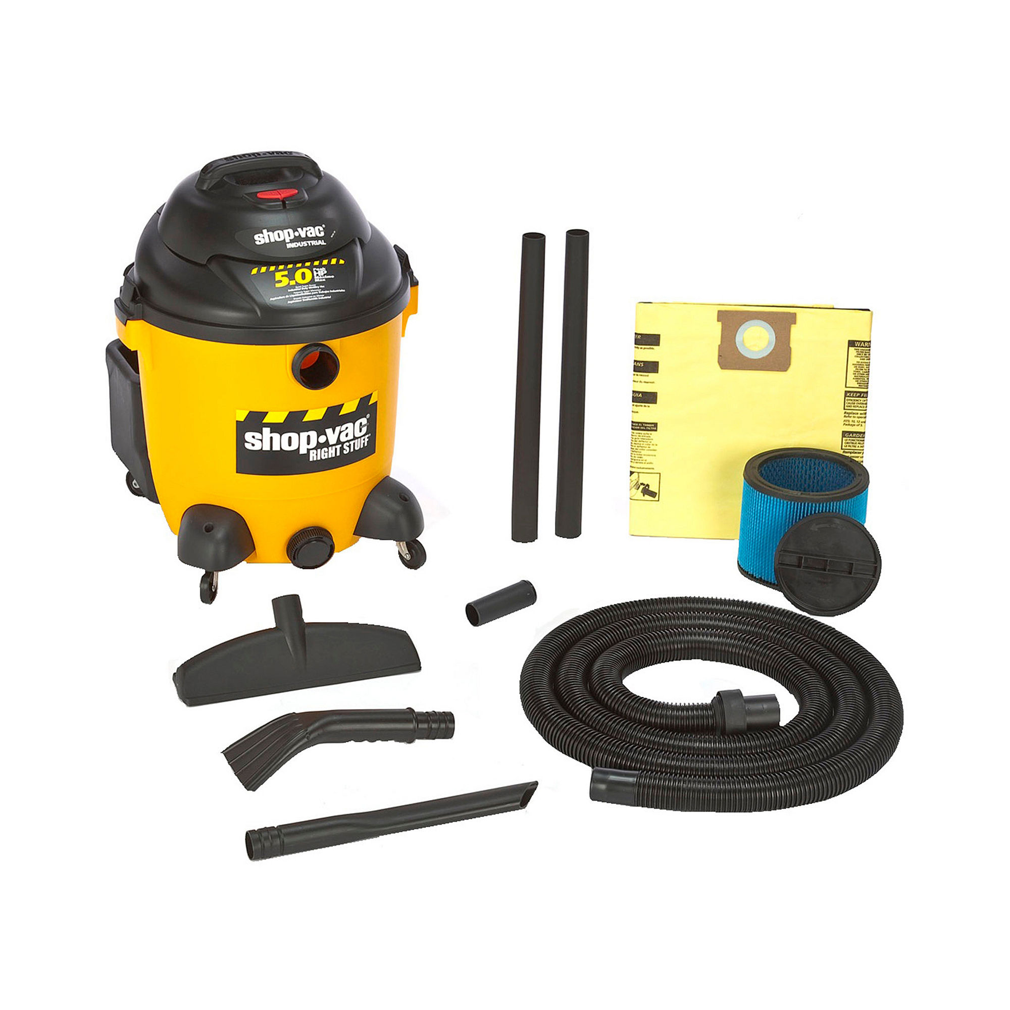 Shop-Vac Right Stuff 12-Gallon Wet/Dry Vacuum Cleaner