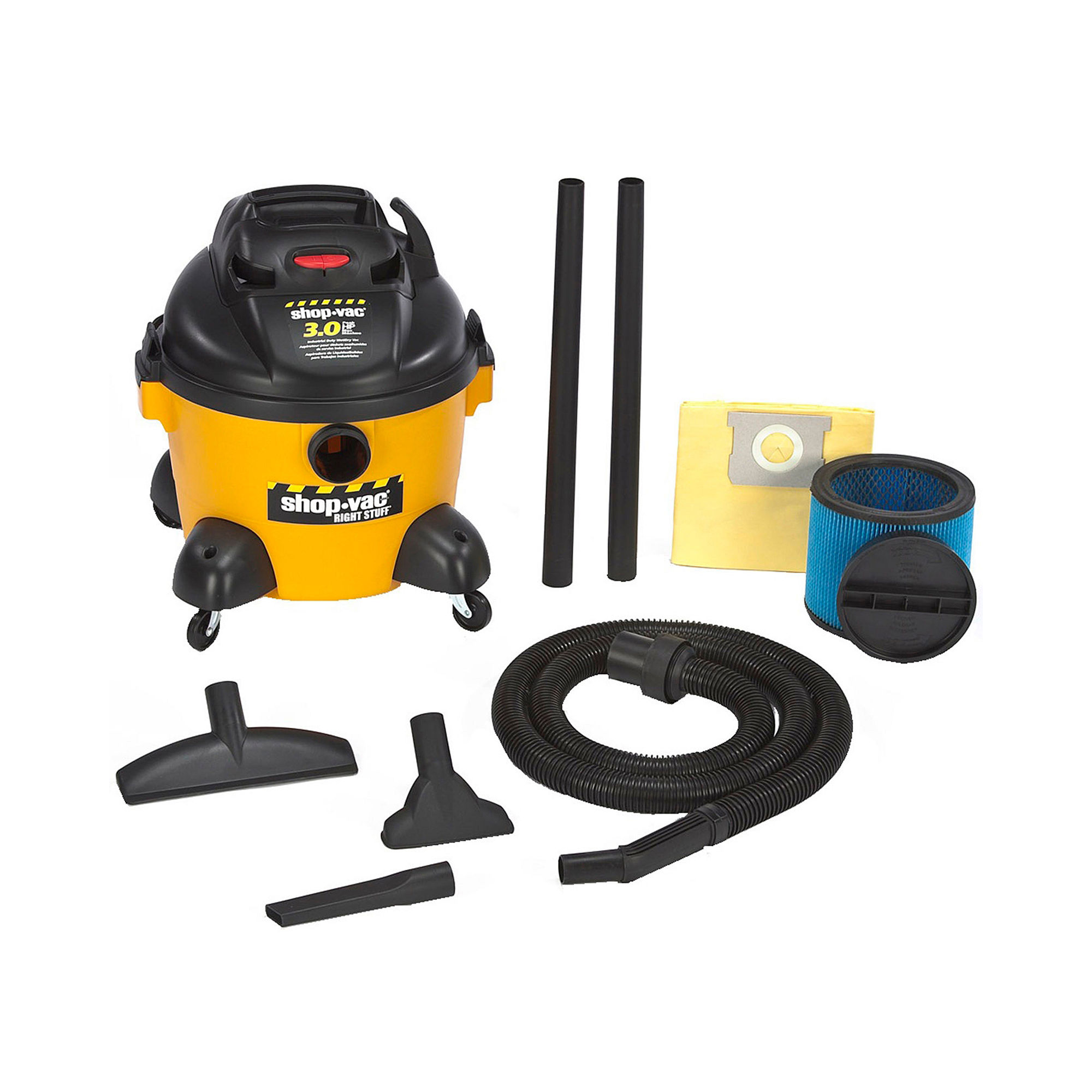 Shop-Vac Right Stuff 6-Gallon Wet/Dry Vacuum Cleaner