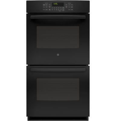 "GE® 27"" Built-In Double Electric Wall Oven with Steam Plus Convection"