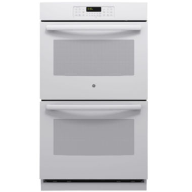 "GE® 30"" Built-In Double Wall Oven With Steam Clean"