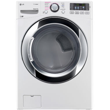 LG ENERGY STAR®  7.4 cu. ft. Ultra Large Capacity Electric SteamDryer™ with NFC Tag On