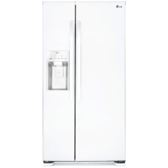 "LG ENERGY STAR® 21.9 cu. ft. 33"" Wide Side-by-Side Refrigerator with Ice and Water Dispenser"