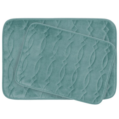 Bounce Comfort Grecian 2-pc. Memory Foam Bath Mat Set