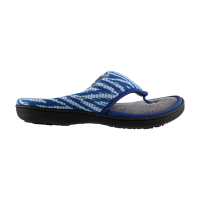Isotoner Chevron Thong Slip-On Slippers
