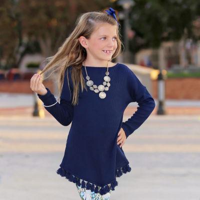 Mayah Kay Fashion Fringe Tunic
