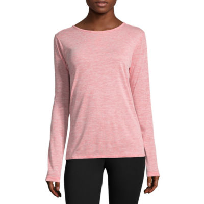 Columbia Sportswear Co. Long Sleeve Crew Neck T-Shirt-Womens