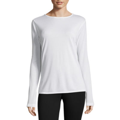 Columbia Sportswear Co. Long Sleeve Crew Neck T-Shirt-Womens