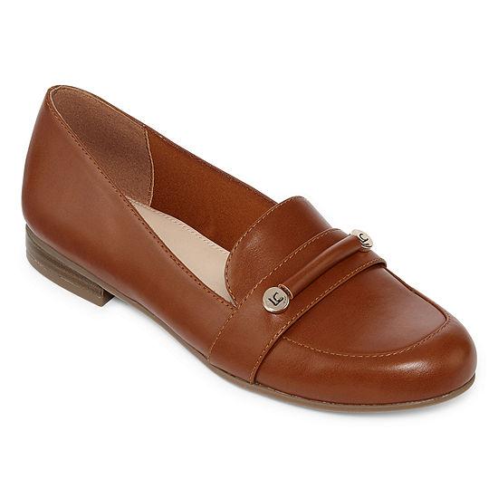 Liz Claiborne Womens Trish Loafers Round Toe