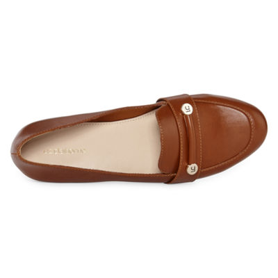 Liz Claiborne Womens Trish Loafers Slip-on Round Toe