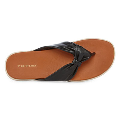 St. John's Bay Berry Womens Flip-Flops