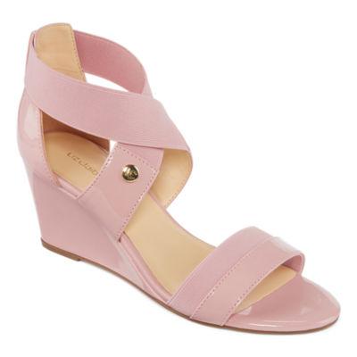 Liz Claiborne Nichelle Womens Wedge Sandals