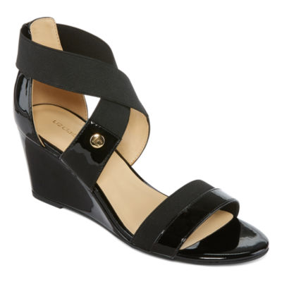 Liz Claiborne Nichelle Womens Wedge Sandals