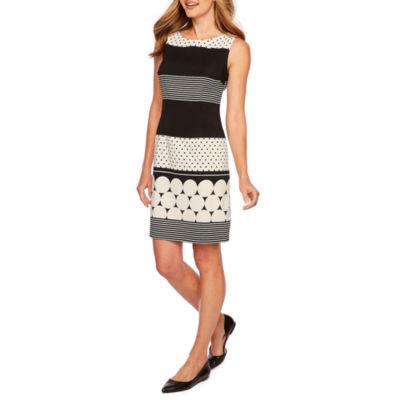 Alyx Sleeveless Stripe Sheath Dress