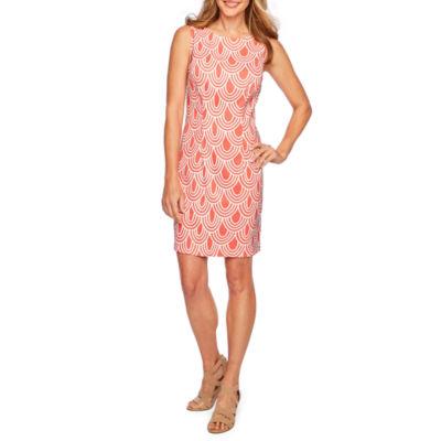 Alyx Sleeveless Geometric Sheath Dress