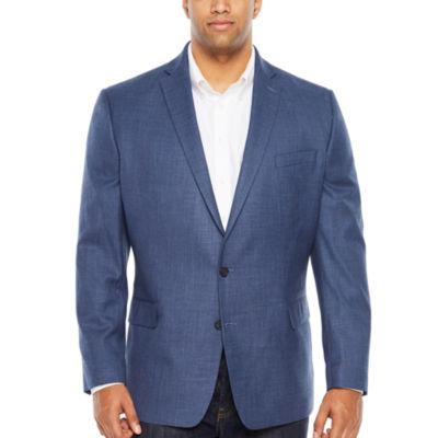 Claiborne Mens Slim Fit Sport Coat - Big and Tall