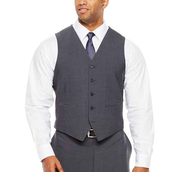 Claiborne Classic Fit Suit Vest - Big and Tall