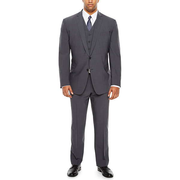 Claiborne Slim Fit Suit Jacket-Big and Tall