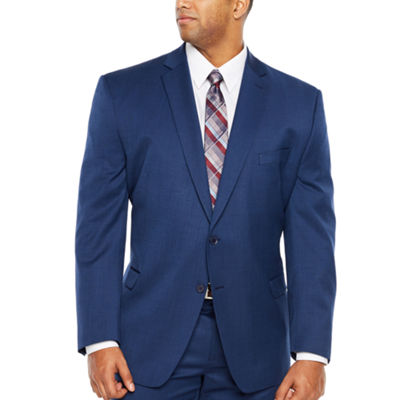 Collection by Michael Strahan  Grid Classic Fit Suit Jacket-Big and Tall