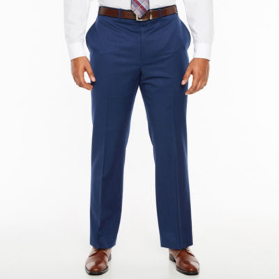 Collection by Michael Strahan  Grid Classic Fit Suit Pants - Big and Tall